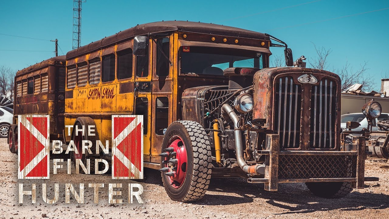 K Code Mustang A Rat Rod Bus And A Whole Lot More Barn